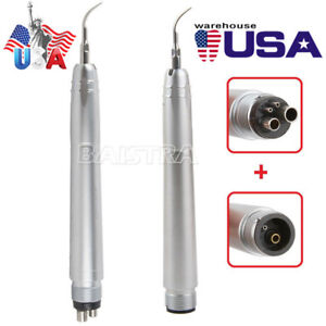 Usa Nsk Style Dental Super Sonic Air Scaler Handpiece scaling Tips 2holes 4holes