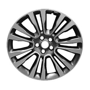 97977 Reconditioned Oem 19x8 Aluminum Wheel Fits 2017 Lincoln Continental