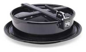 Drum Funnel steel 6 3 4 In H black New Pig Drm1212 bk