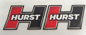 Lot Of 2 Hurst Rod Ratrod Sticker Decal Racing Gasser Afx