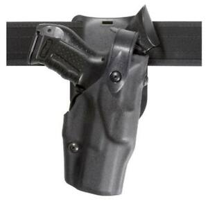 Safariland 6365 283 131 Lowride Level Iii Duty Holster Black Rh Fits Glock 19