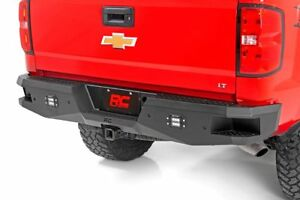 Rough Country Heavy duty Rear Led Bumper For 07 18 Chevy Silverado 1500