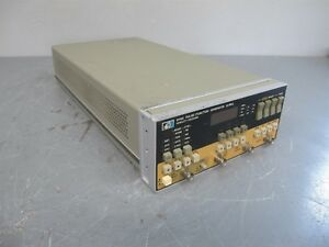 Hp 8116a Pulse Function Generator 50 Mhz S n 2708a04090