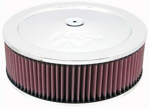 K N Filters 60 1230 Custom Air Cleaner Assembly