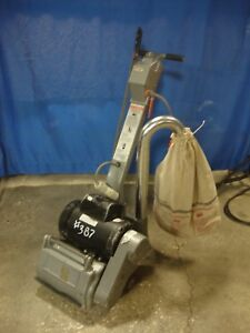 Clarke Ez 8 8 Electric Expandable Refinishing Floor Drum Sander 387 Ez8