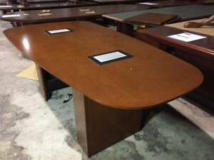 Used Office Furniture Used Walnut Conference Room Tables