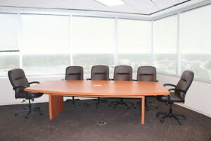 Used Office Furniture Used Laminate Top Conference Room Tables