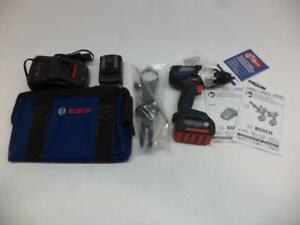 1 New Bosch Cordless Brute Tough Drill driver Kit With Batteries Ddh183 01