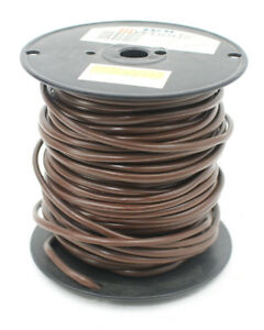 Coleman Cable 553046607 250 Foot 18 4 Thermostat Wire Brown