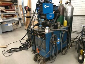 Miller Deltaweld 450 With Wc115a