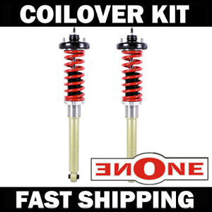 Mookeeh Mk1 Rear Coilover Kit W mounts For 03 07 Honda Accord Tl Tsx Coilovers
