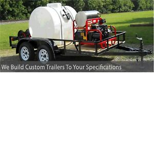 Pressure Washing Trailer Trailer Mounted Power Washer Trailer For Sale Buy Now