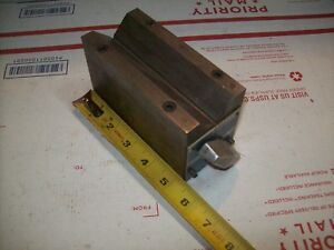 Atlas Craftsman Logan South Bend Lathe Brown Sharpe Magnetic V Block