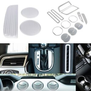 Interior Decoration Trim Kit Extension For Ford Mustang Left Hand Drive 2015 18