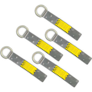 Guardian Fall Protection 00500 Ridge it Roof Steel Safety Anchor 5 pack