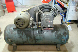 Ingersoll rand 5hp Air Compressor Max Wp 200lbs Max Temp 650f Model 253