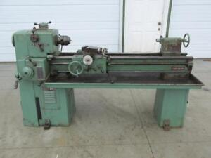 Clausing Model 6913 Metal Lathe 14 X 48 Flame Hardened Bedways Variable Speed