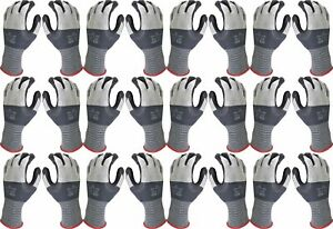 Atlas 381 Showa Universal Nitrile Foam Microfiber Small Glove 12 pair