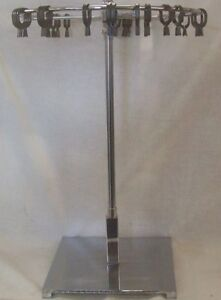Store Display Fixtures New 18 33 H Countertop Revolving Scarf Stand W clips