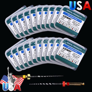 20 Kits Dental Universal Engine Rotary Endodontic Shaping Niti Files Sx f3 25mm