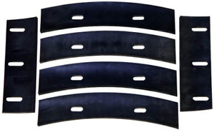 Stone 21047 Mortar Mixer Rubber Blades For 6 7 Or 8 Cubic Feet Running Longer