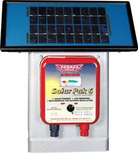 Parmak Deluxe Field Solar Pak6 Solar Fence Charger