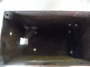 Farmall 300 Row Crop Tractor Battery Box