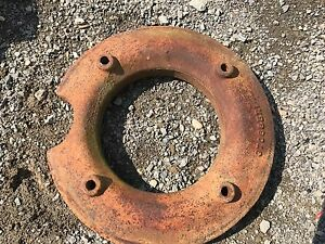 Farmall International 340 Tractor Front Wheel Weight