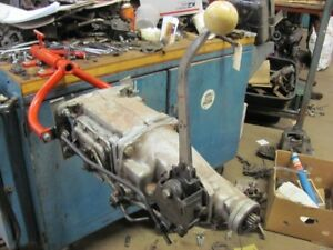 1964 64 Chevy Impala T10 T 10 4 Speed Transmission With Hurst Shifter Wide Ratio