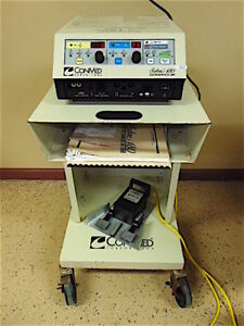 Conmed Sabre 180 60 5800 001electrosurgical Unit Footswitch 60 5104 001 sr396