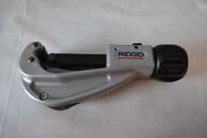 Ridgid 151 1 4 To 1 5 8 Quick acting Tubing Cutter New Free Shipping