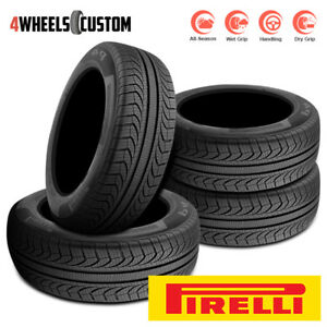 4 X New Pirelli P4 Four Seasons Plus 205 55r16 91y All Season Touring Tires