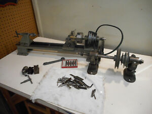 L1465 Vintage Small Machinist Lathe Craftsman Atlas Delta