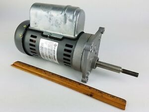 Franklin Electric Motor 308 Rpm 220 Volt High Torque Slow Speed Geared Reducer