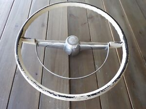 1954 Mercury Used Steering Wheel With Horn Ring