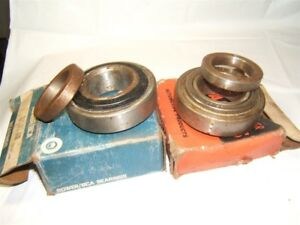 1961 63 Oldsmobile F85 Buick Special Rear Wheel Bearings Pair Usa