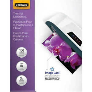 Fellowes 5200509 Letter Glossy Laminating Pouches 150 Pack