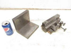 Machinist Right Angle Surface Plate Setup Fixture Clamp Block 6 1 2 X 6 X 5 25