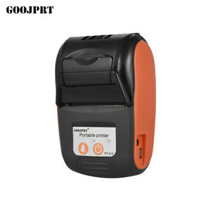 Goojprt Pt 210 58mm Bt Thermal Printer Portable Wireless Receipt Pos Machine