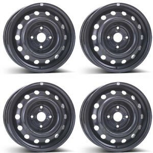 4 Alcar Steel Wheels 6555 5 5x14 Et44 4x114 For Daewoo Tacuma Lacetti Rims