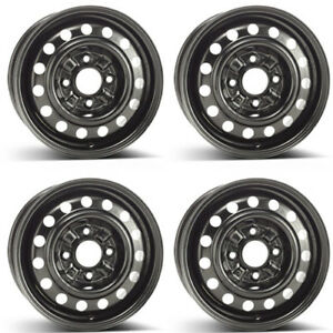 4 Alcar Steel Wheels 6620 5 5x14 Et46 4x114 For Hyundai Matrix Rims