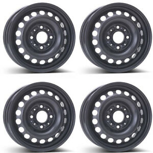 4 Alcar Steel Wheels 6670 5 5x14 Et46 4x114 For Mitsubishi Colt Rims