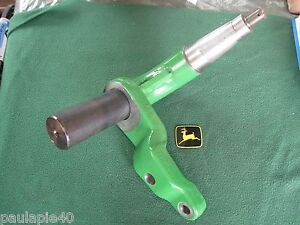 New A i John Deere Combine Rear Axle Rh Spindle A ah173845 9000 Series Models Be
