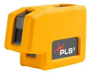 Pacific Laser Systems Pls 60523n Pls 180 3 point Red Beam Laser Level