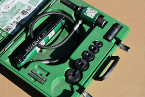 Greenlee 7306sb 1 2 1 1 2 Hydraulic Slugbuster Knockout Kit 7306 Sb 746 767