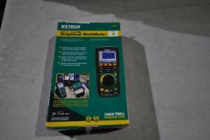 Extech Instruments Gx900 True Rms Graphical Multimeter Brand New 2