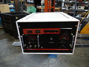 Epsco Microwave Ep250c Cw Pulse Signal Source W M8045h Plug in 200 700 Mhz