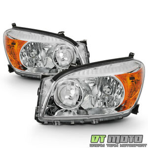 For 2006 2007 2008 Toyota Rav4 Headlights Headlamps Replacement 06 08 Left Right