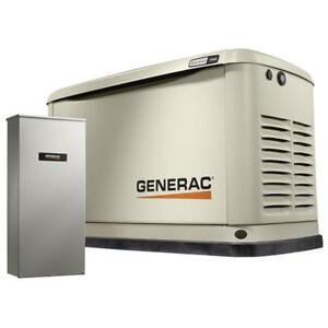 Generac Guardian 11kw Air Cooled Standby Gen W 100 Amp Transfer Switch 7032