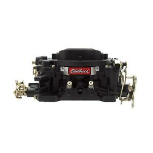 Edelbrock 14053 Performer 600 Cfm 4 Barrel Carb Manual Choke Black